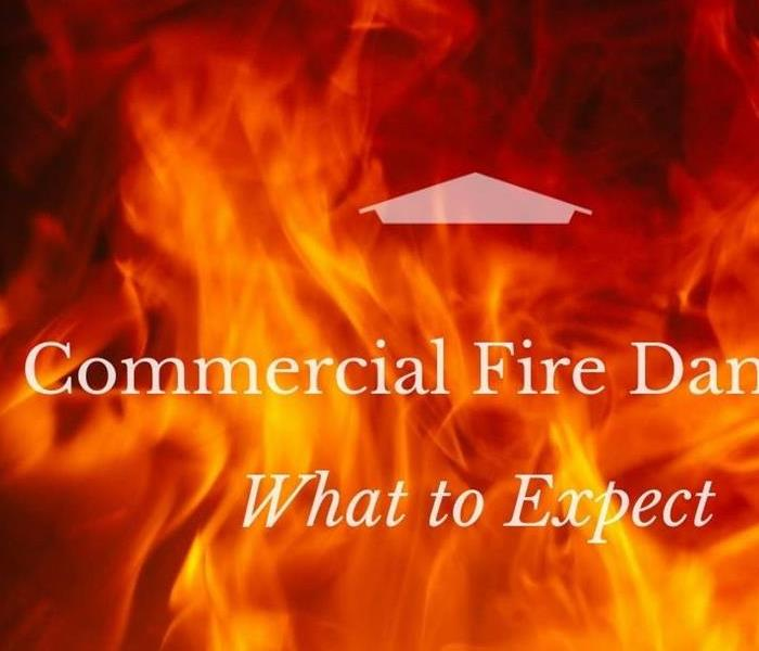 Commercial Commercial mitigation from a fire